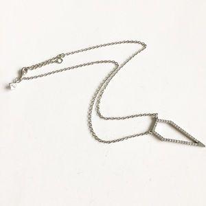Rebecca Minkoff  Open Dagger Necklace
